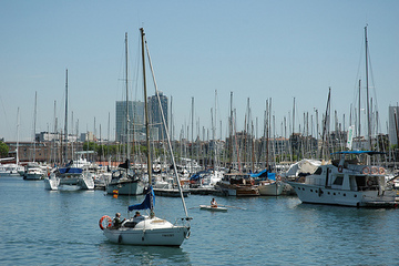 Der Hafen von Barcelona © durnell/FlickrStorm